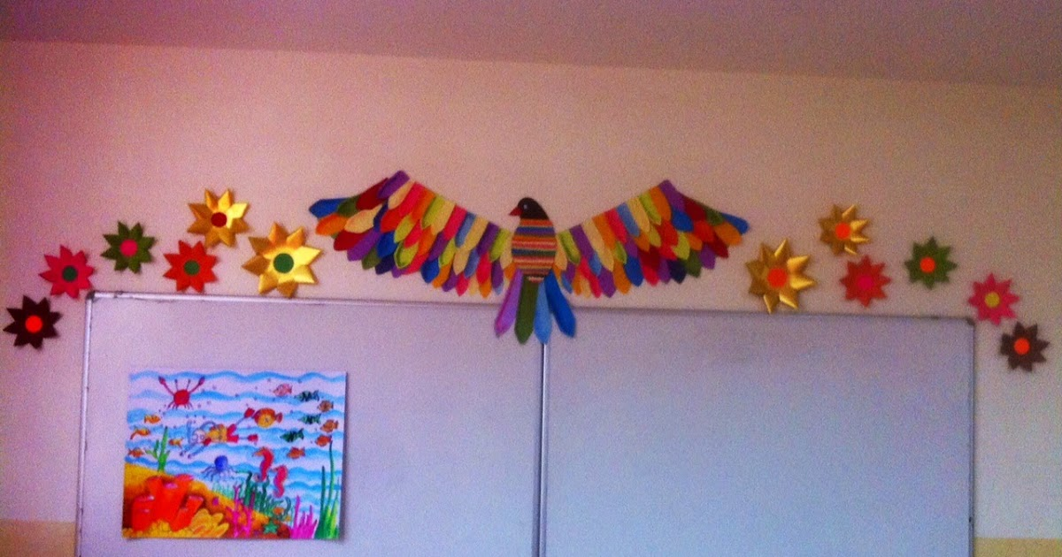 Classroom Decoration Elementary ~ Art craft ideas and bulletin boards for elementary