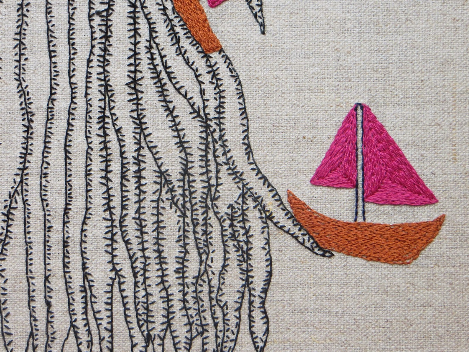 Paperfolk Crafty Exploits Modern Day Mermaid Embroidery