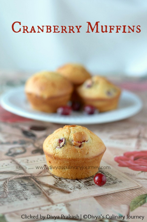 Fresh cranberry Muffins , Recipes with fresh cranberries