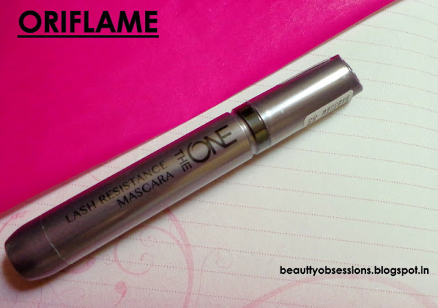 Oriflame The ONE Lash Resistance Mascara - Review, Price & Swatches