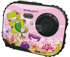 EasyPix Aparat Cyfrowy - Aqua Bubble Belle W318  różowy aparat dla dzieci