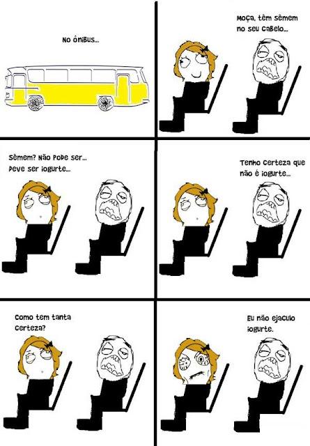 O cara do ônibus