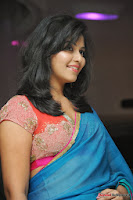 actress anjali hot saree photos at masala telugu movie audio launch+(38) Anjali Saree Photos at Masala Audio Launch