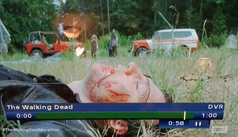 Walking Dead Governor Lays Dead On The Ground