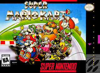 Super Mario Kart cover snes game