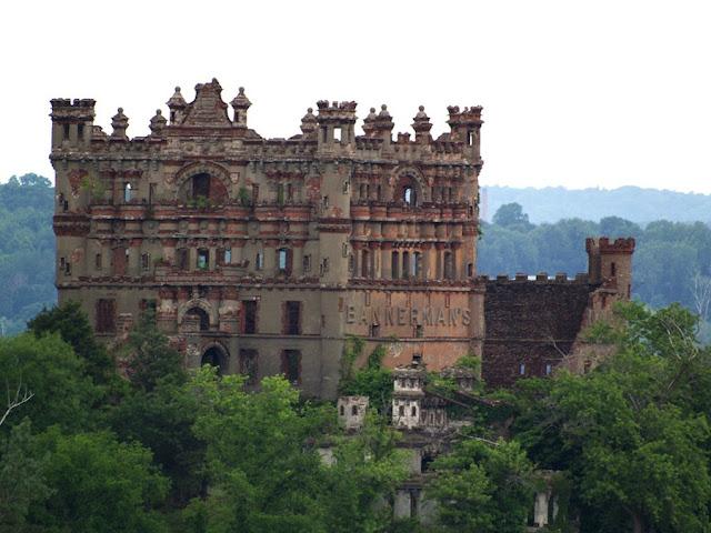 Bannerman Castle, Nueva York, abandonado