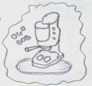 coffee machine hand graphic picture