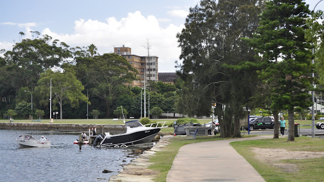 Boat ramp at Gosford waterfront