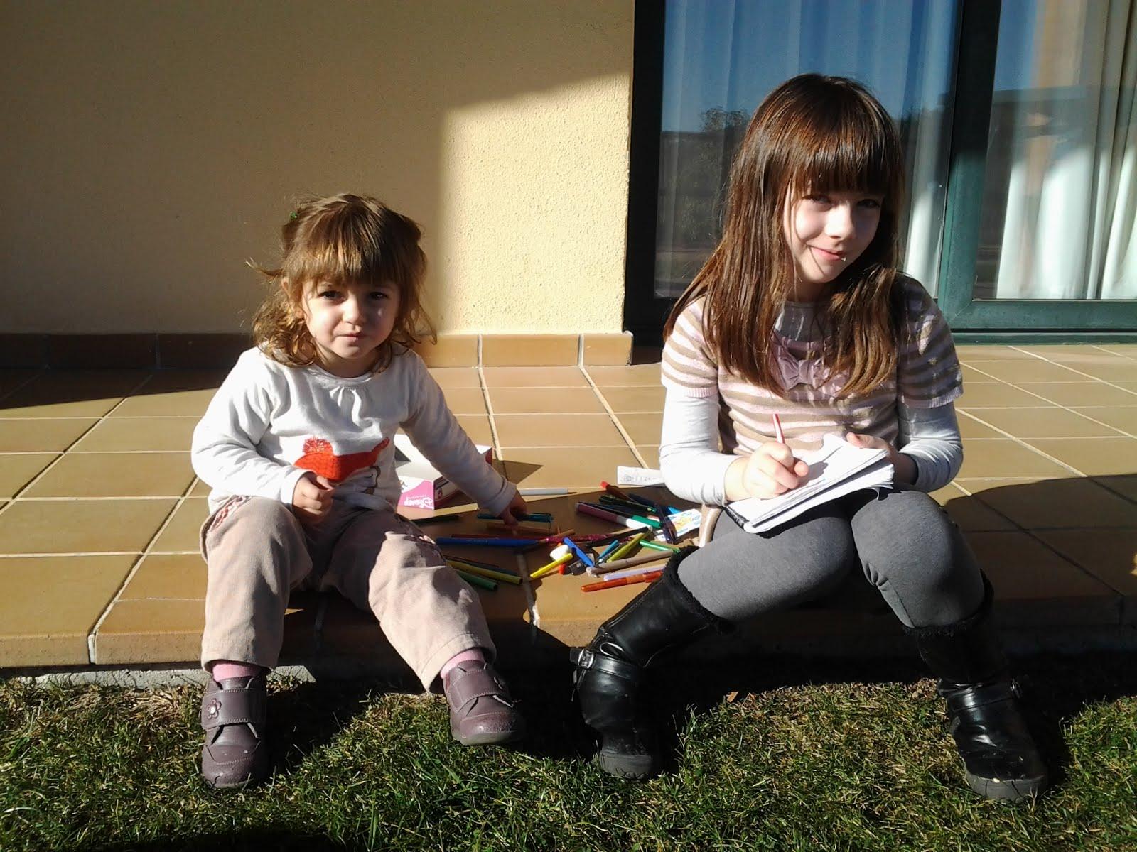 Yo con mi hermana