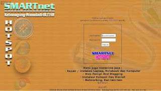 login page hotspot