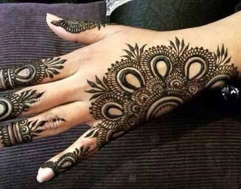 Mehndi Ankle Instagram : Best latest modern henna designs fashion feed