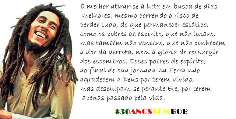 Frases de Bob Marley - As melhores frases do rei do reggae