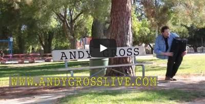 بالفيديو : رجل مقطوع نصفين يتجول في الشوارع يثير الذعر - Magician Cut in Half