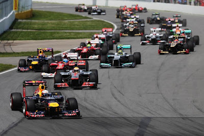 Champions face off at the 2012 Canadian Grand Prix
