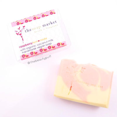 the soap market raspberry lemonade - the beauty puff