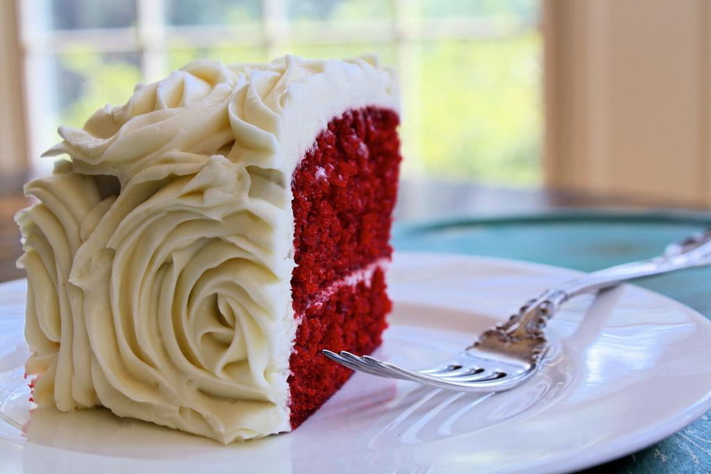 Dlish Red Velvet Rose Cake Cake Decorating Tutorial