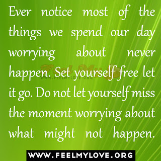 Ever notice most of the things we spend our day