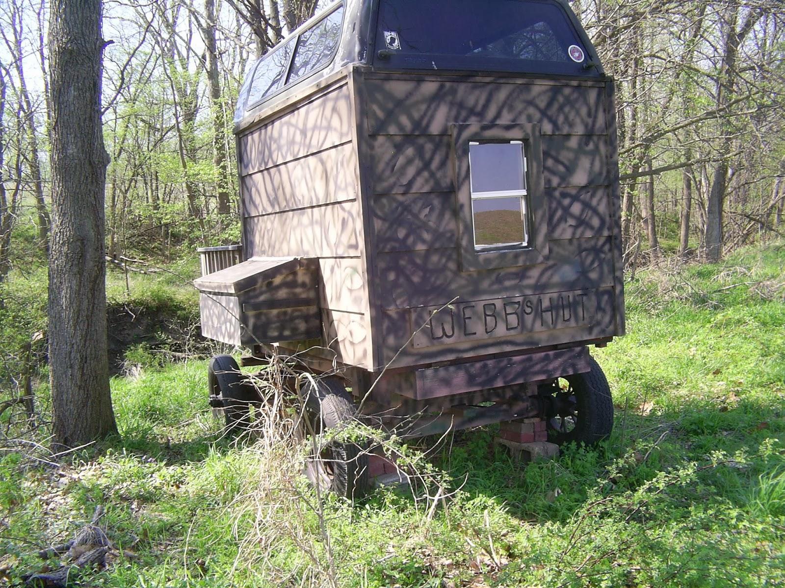 Homemade deer blinds homemade deer blinds car interior for Deer blind images