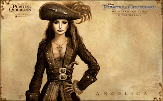 Pirates of the Caribbean 4 On Stranger Tides Movie Angelica HD Wallpaper