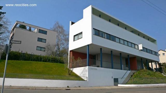 Villa Weissenhof en Stuttgart 1926 - 1927 Le Corbusier