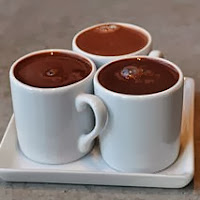3 cups of hot cocoa