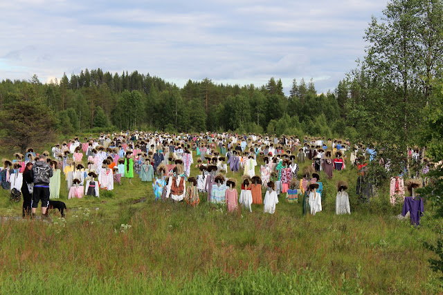 The Great Finnish Road Trip, scarecrows, visit Finland, Finnish road trip, road trip Finland, strange sights