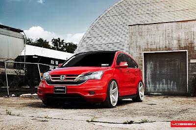 Honda Cars : Honda CR-V on Vossen Wheels | 2013 New Honda ...