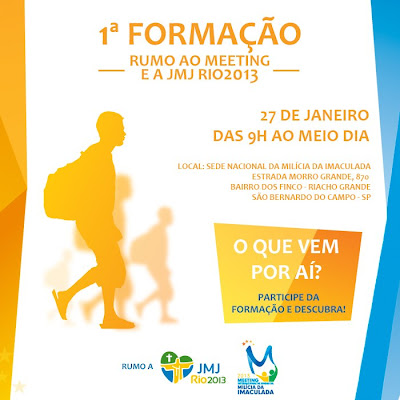 1ª Formação rumo ao Meeting e JMJ Rio2013