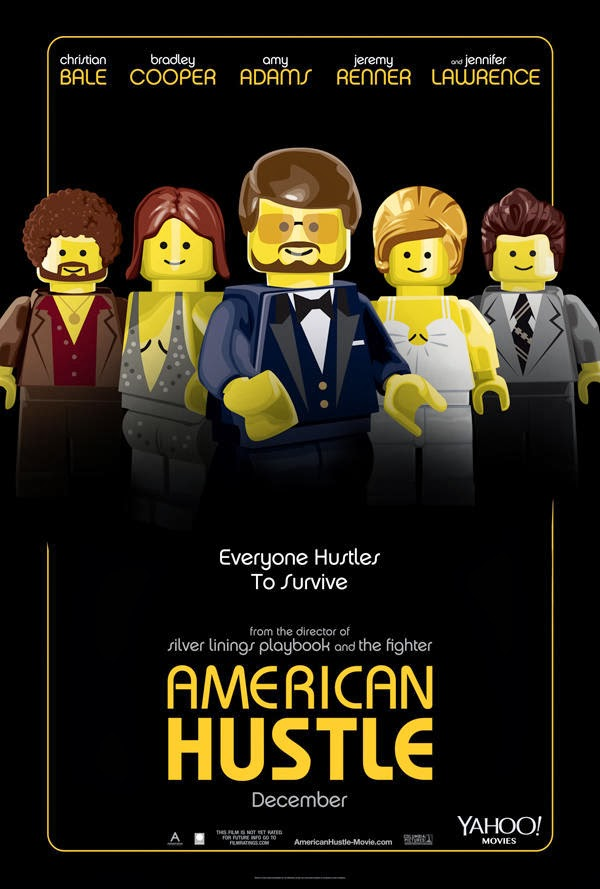 Poster Lego - La gran estafa Americana