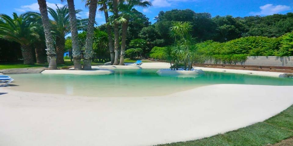 Vd im veis piscinas que parecem praia - Imagenes de piscinas de arena ...