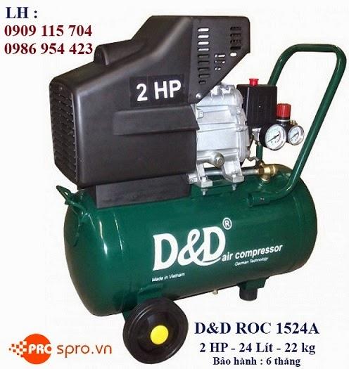 Máy nén khí Mini 2 HP D & D ROC1524A