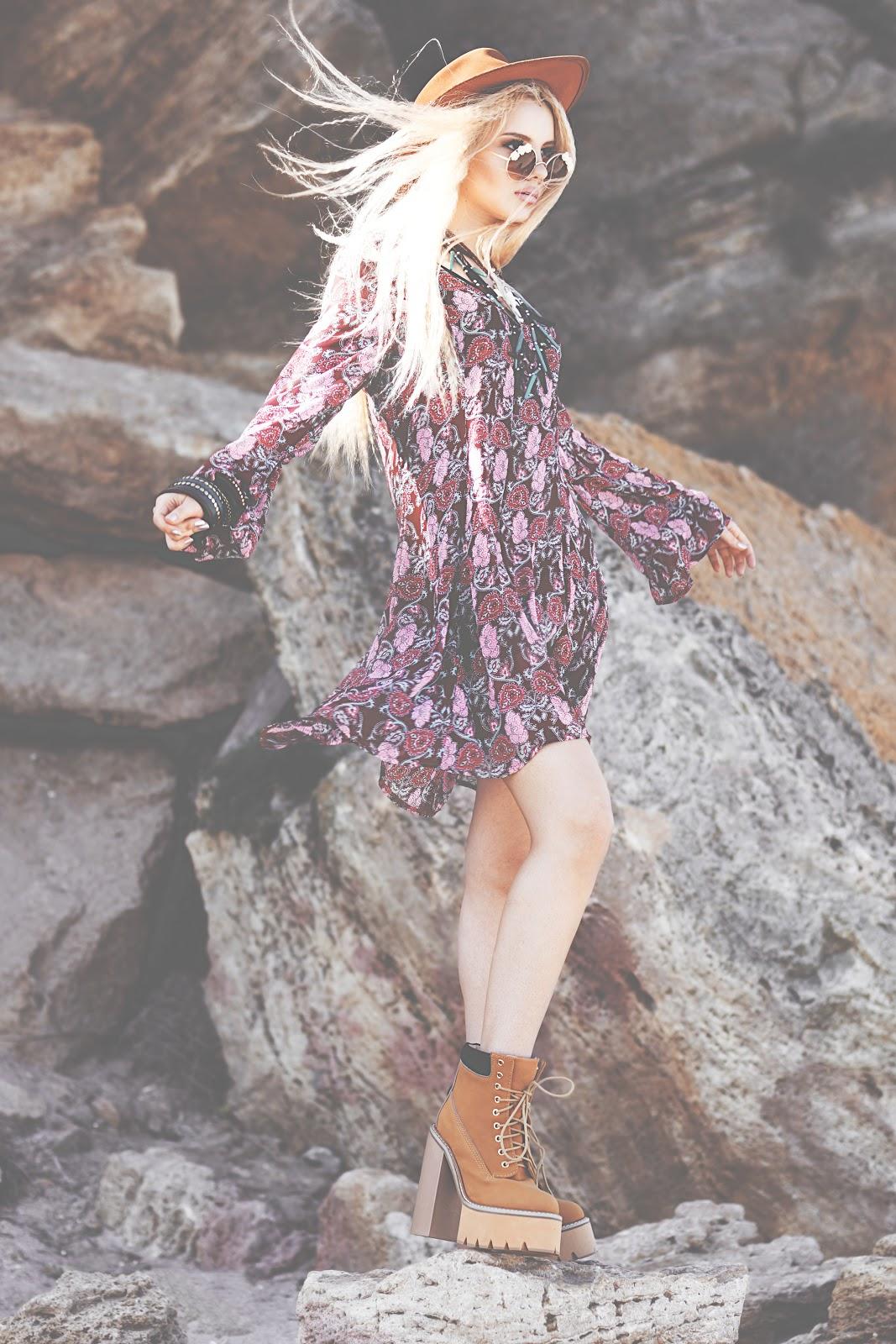 indie boho blogger, boho blogger, fashion blog, coachella look, look for music festival