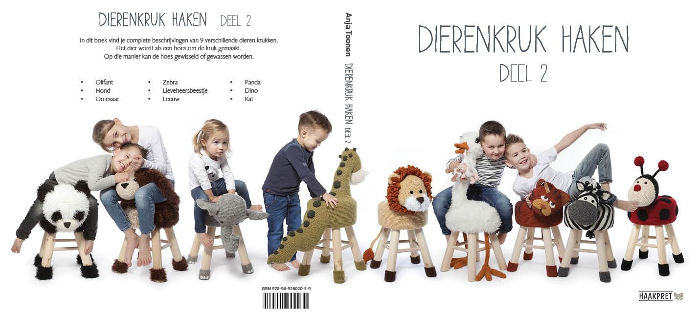 Mijn 16e boek: Dierenkruk haken deel 2