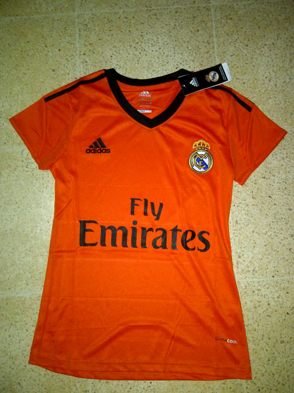 Jual Jersey Madrid Orange for Ladies
