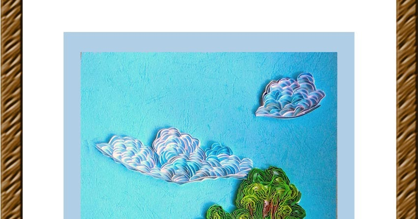 Journey into Quilling & Paper Crafting: Quilled Nature Landscape ...
