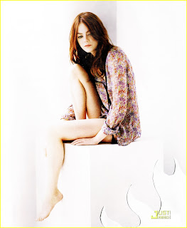 Unseen Hot model Emma Stone HD photo wallpapers 2012