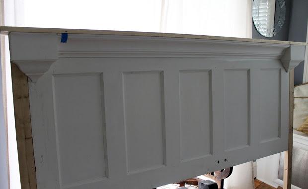 Old Doors into Headboards