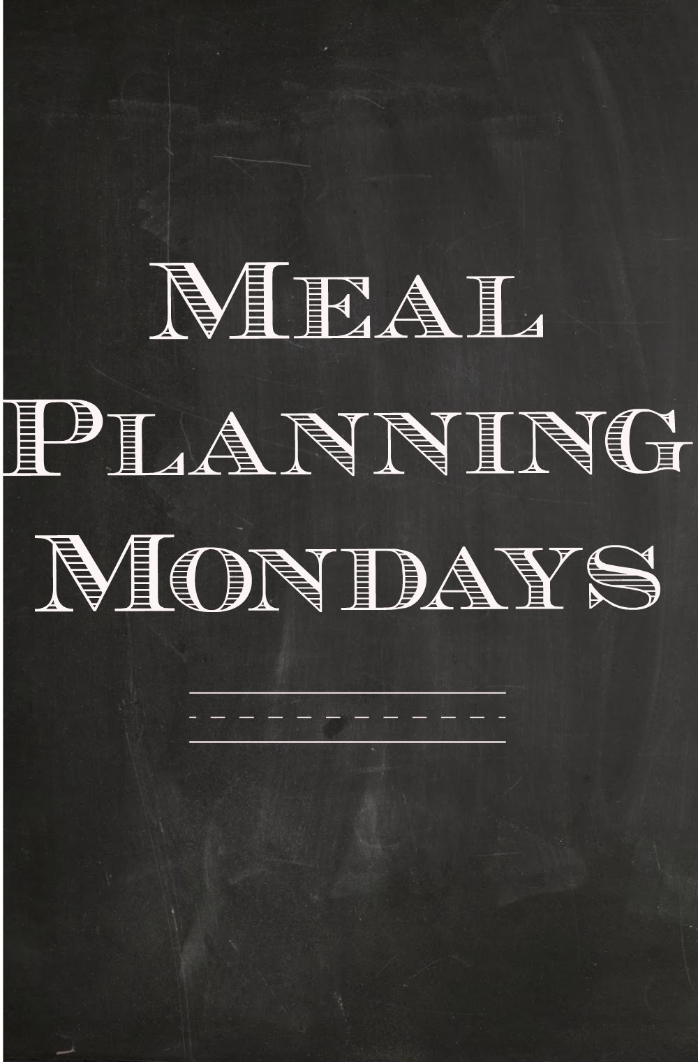 Vanilla Clouds And Lemon Drops Meal Planning Mondays Sept