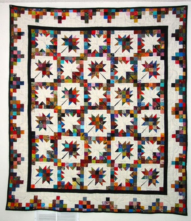 Quilt Patterns With Leaves : Quilt Inspiration: Free Pattern Day ! Autumn Leaves quilts