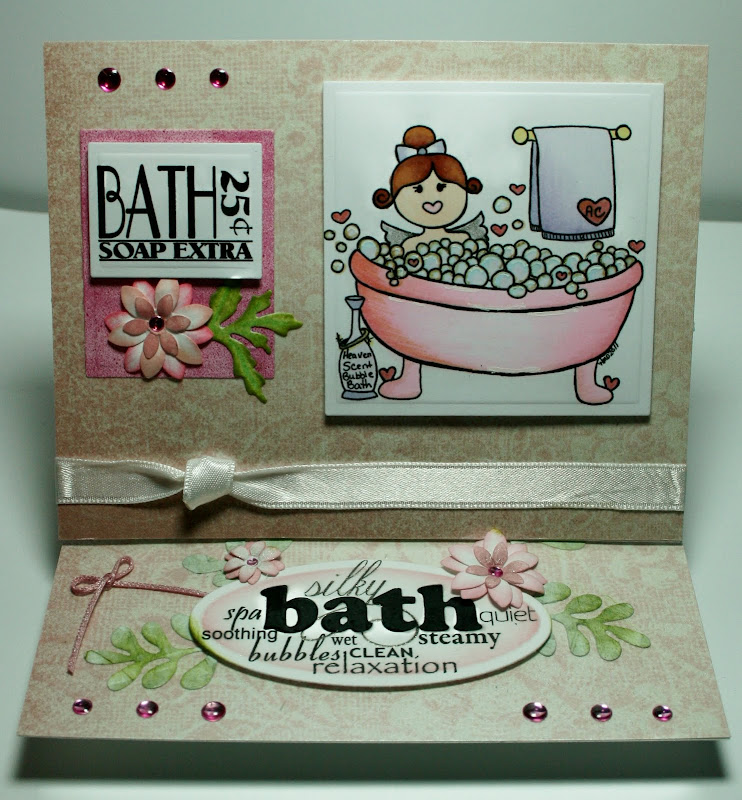 The image is 'Angel Cake Bubble Bath' from Fresh Brewed Designs  title=