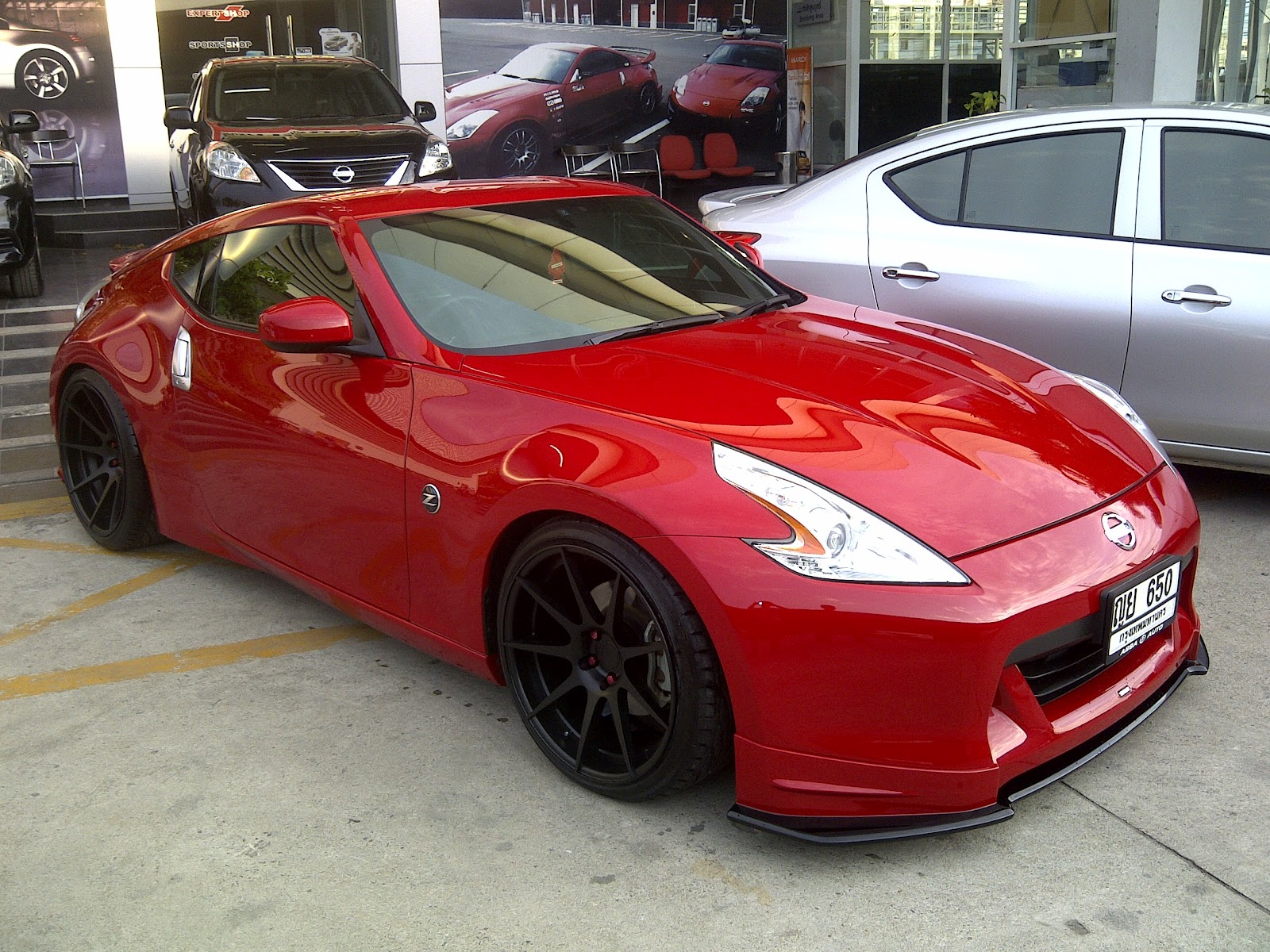 .: Nissan 370z with forged wheels