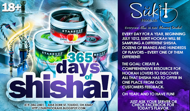 365 Days of Shisha Flyer