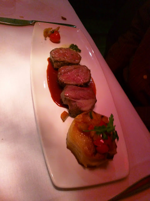 Slow roasted lamb at Dobbins