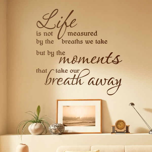 Wall Art Quotes About Life : Bel furniture write it on the wall