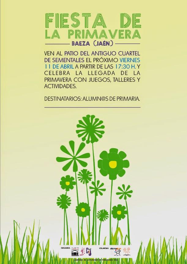 Fiesta de la Primavera para niños y niñas de Primaria de Baeza ...