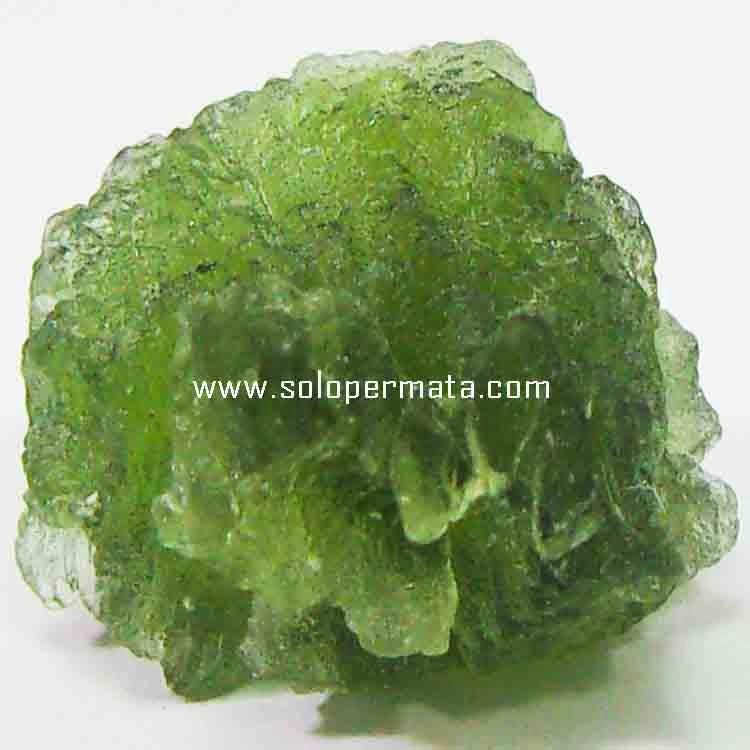 Batu Permata Moldavite Tektite Bahan - 26B13