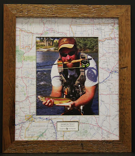 Casco Bay Frames & Gallery: Fly Fishing Frame