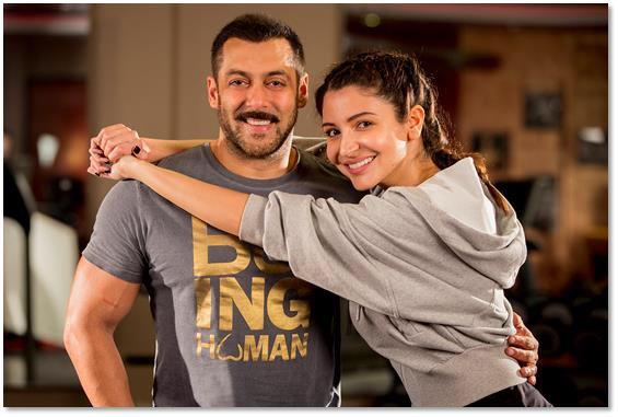anushka with salman