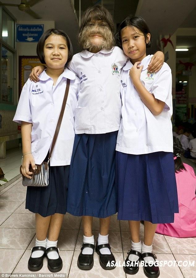 gadis berbulu | asalasah.blogpsot.com