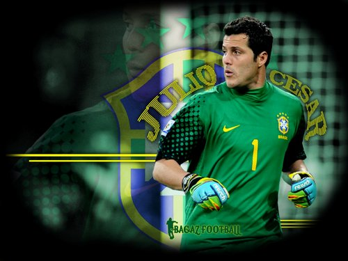 All Football Players: Julio Cesar HD Wallpapers 2012